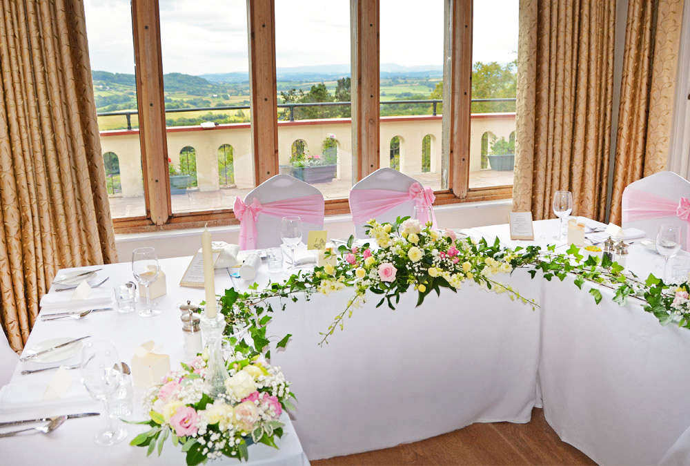 The head table & the view